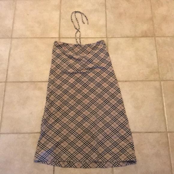 79a2ae84865 Burberry tube top or tie dress! M 5a528fcf8af1c5ba3c025e17